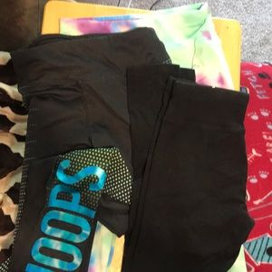 Justice leggings size 12